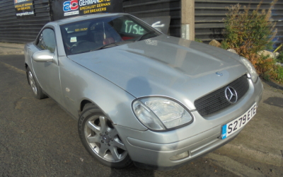 Mercedes SLK 320 S reg breaking all parts available Price: £tba