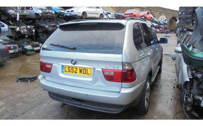 BMW X5 2002 3.0 DIESEL BREAKING ALL PARTS AVAILABLE