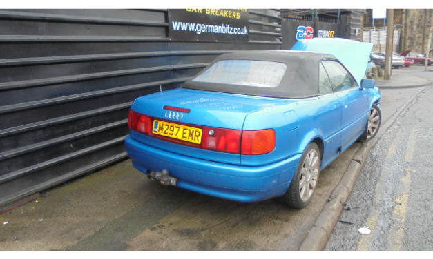 Audi 80 Cabriolet Convertable Breaking All Parts Available